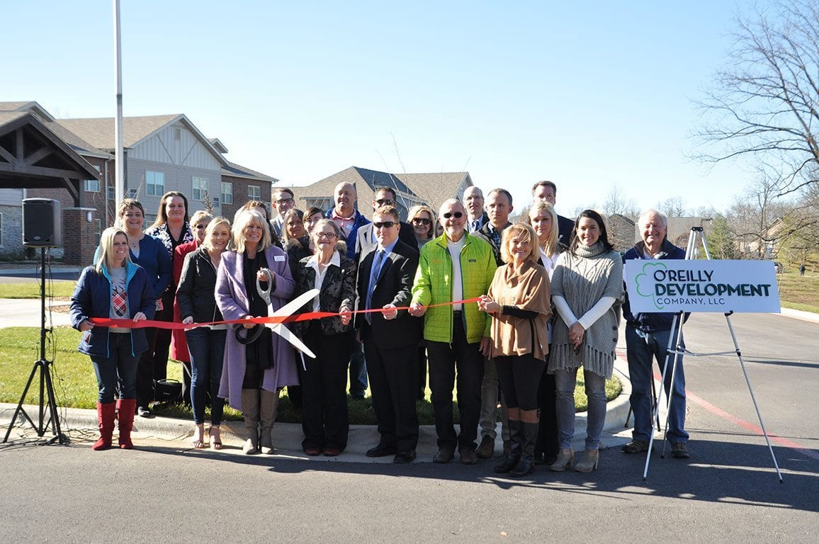 The Castlewood Senior Living Ribbon Cutting