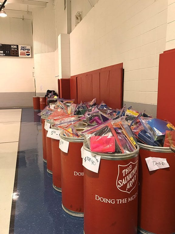 Volunteer Day At The Salvation Army