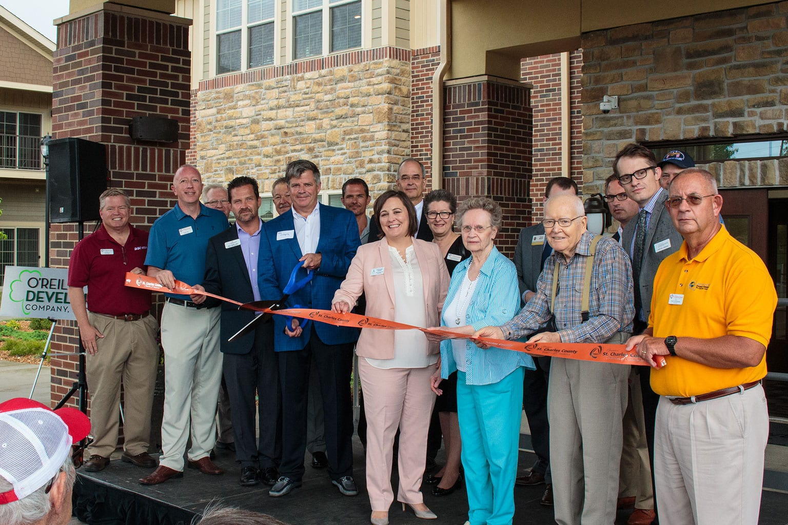 The Boulevard of St. Charles Grand Opening & Ribbon Cutting
